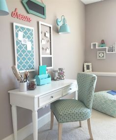 See more projects and get inspired by our R&F bloggers on our social page. Photo by Amie Freling of Memehill Studio. Shop kids' desks and accent chairs at raymourflanigan.com.