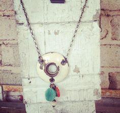 Lucysinspired: Lucys Lockets...vintage door knob plate