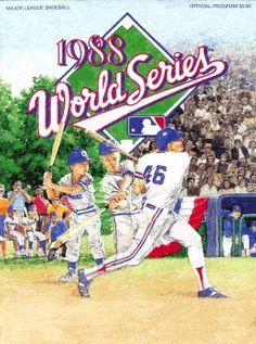 1988 World Series program