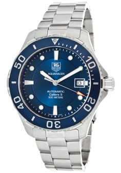TAG Heuer watches for men and women at The Watchery include the Aquaracer, Formula 1 and Carrera collections that are always featured at discount prices. Great Valentines Day Gifts, Sporty Look, Tag Heuer, Casio Watch, Omega Watch, Rolex Watches, Husband, Stainless Steel, Mens Fashion