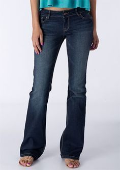 Delias Bailey flare.  Perfect fit for girls in between kids and teen sizes.
