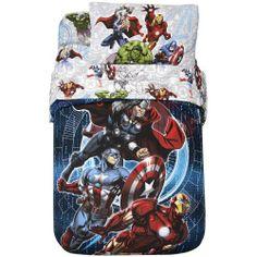 Marvel Avengers Comforter, Multi, Boys, http://www.amazon.com/dp/B00F8NSFJ2/ref=cm_sw_r_pi_awdm_6YjOsb1X1C7FF