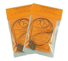 Thompson Snares SK-1 Survival Snare Kit - 4 Snares for Small Game!