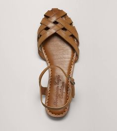 OMG! I used to have sandals like this and I wore them to death! Fisherman sandal from American Eagle.
