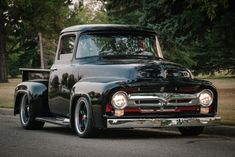 1956 Ford F-100 Ford 56, 1956 Ford Pickup, 1956 Ford Truck, Old Ford Trucks, Tonka Trucks, American Pickup Trucks, 1956 Ford F100, Classic Pickup Trucks, Hot Rod Trucks