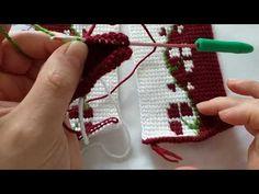 TUNUS İŞİ PATİK EN YENİ MODEL 1.KISIM DETAYLI ANLATIM🥿🥿 - YouTube Tunisian Crochet, Knit Crochet, Slipper Socks, Sewing Patterns, Projects To Try, Make It Yourself, Knitting, Youtube, Blog