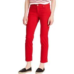 8020fd83 Lauren Ralph Lauren Ultracrop 5 Pocket Denim Jeans | Lauren Ralph Lauren |  Shop The Exchange