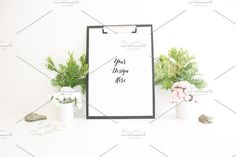 Roses Leafs and Paper by AZ Creative Stocks on @creativemarket
