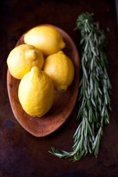 Lemons and Rosemary