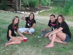 Another group of girls having a bachelorette party at Put-in-Bay, Ohio. They are at Island Club Put In Bay Hotels, Put In Bay Ohio, Bachelorette Party Supplies, Party Items, Club, Island, Group, Couple Photos, Girls
