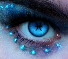 gorgeous blue...and i am pisces