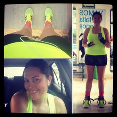 Gym and runner