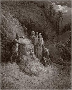 Illustration for Orlando Furioso — Gustave Doré