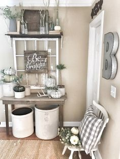 Fall Into Our Homes - Fall Blog Hop 2017 | Bless This Nest