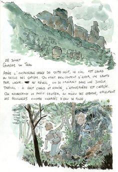 Odysseus Adventure Book-Travels in France-Tumblr, Ulysse Malassagne is an amazing storyteller and illustrator.
