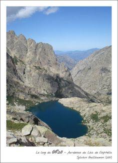 Lac de Capitellu (1930 m) et San Petrone , Corse Corsica GR 20