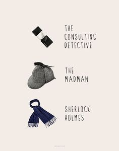 The faces of Sherlock Holmes.
