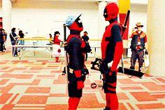 Deadpool Face Off