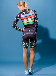 World Champion Long Sleeve Cycle Skinsuit