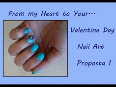 Recipe for perfect Valentine's Day – Aly No Panic Valentines Day, Nail Art, Recipe, Nails, Heart, Proposal, Valentine's Day Diy, Finger Nails, Ongles
