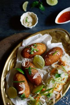 Paneer and corn croquettes are the perfect arm candy to your evening cup of joy. These little bites pack quite a punch of flavor!