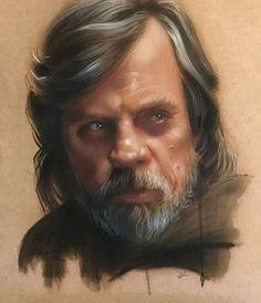 Luke Skywalker by Brandon Kenney