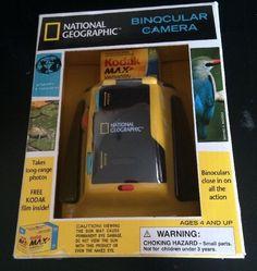 Binocular Camera National Geographic 35mm Kodak 400 Film Bird Watching | eBay