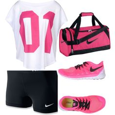 workout by fashiongirlawesome2 on Polyvore featuring NIKE