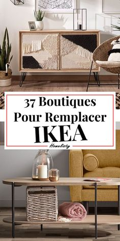 37 Boutiques Pour Remplacer IKEA We love IKEA . Discover these 37 brands competing with IKEA for your decor and furniture. Ikea Furniture, Decor, Ikea, Room Decor Bedroom, Bedroom Decor, Deco Furniture, Diy Home Decor, Bedroom Design, Home Decor