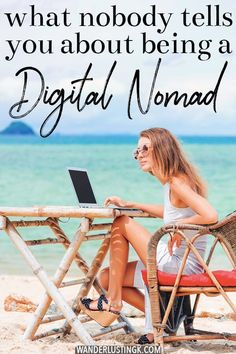 Planning to become a digital nomad? Read about the ugly side of being a digital nomad and an essay about being a responsible digital nomad! Digital nomads can see the world and continue making money to fund their lifestyle. Travel Jobs, Work Travel, Travel Advice, Asia Travel, Travel Usa, Travel Ideas, Travel Careers, Shopping Travel, Beach Travel
