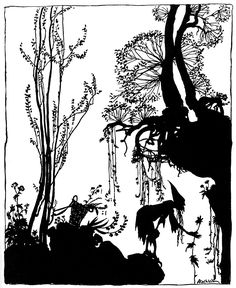 arthur rackham_the sleeping beauty_
