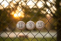 Baseball  themed wedding Save the Date!  Photo Credit:  Mindy Moore Photography