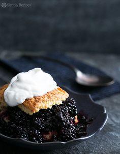 Blackberry Shortcake Recipe on SimplyRecipes.com