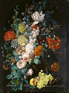 Margareta Haverman  Vase of Flowers  1716