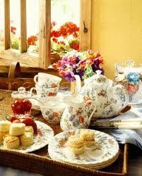 english tea and scones