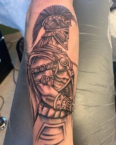 Warrior Tattoo Sleeve, Warrior Tattoos, Forearm Tattoo Men, Leg Tattoos, Sleeve Tattoos, Tattoos For Guys Badass, Hand Tattoos For Guys, Card Tattoo Designs, Tattoo Designs Men