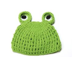 Cute Cartoon Baby Hats Handmade Infant Caps Newborn Photograph Props Crochet Hat Knit Cap Unisex Toddler Girls Boys Frog Hats