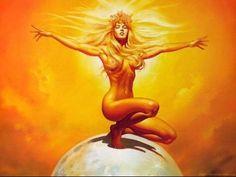 Resultado de imagem para deusa do sol
