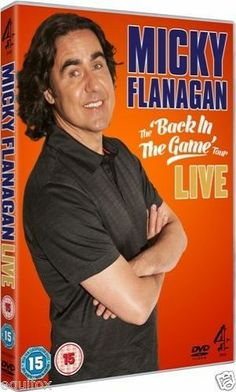 Micky Flanagan | Back In The Game | Live | DVD | 2013 COMEDY COMEDIAN STAND UP