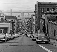 San Francisco. Photo by Arthur Tress Note the cars. Gives you an idea of when this was taken.
