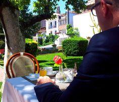 Grande Hotel de Paris  #garden #sun #Porto #Portugal