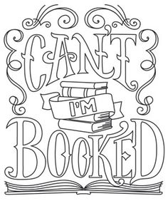 Tell it like it is with this sassy saying, designed for book lovers! Perfect for book bags, apparel, and decor. Downloads as a PDF. Use pattern transfer paper to trace design for hand-stitching.