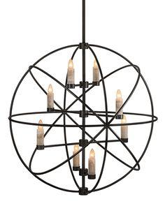 Alchemy chandelier - Santangelo lighting