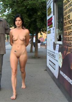 "deliciae-delectae: "" Being marched naked down the street in broad daylight. He says he's going to invite the next man they meet to check her cunt, and if it's wet she's going to be spanked by him on the spot. "" Wo Männer früher mit dicken Autos..."