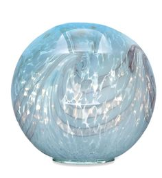 Pearly Glass Gazing Ball