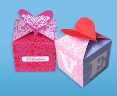 Cajas de regalo para San Valentin