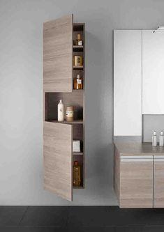 etagere en bois salle de bain murale et suspendue genre armoire de toilette ikea