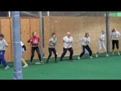 Catcher's Shuffle (A Catchers Dance to the Cupid Shuffle) at Megan Willis catching Clinic.