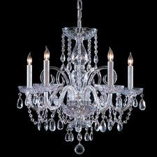 5 Light Traditional Crystal Chandelier