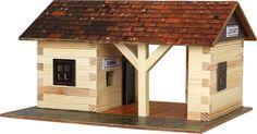 Set de constructie din lemn -Gara - Walachia. Produs recomandat copiilor cu varsta peste 8 ani. Acceseaza link-ul sau comanda prin email la adresa comenzi@dmkids.ro. Cod produs DMK12532, pret 75,00 lei